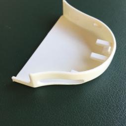 Крышка короба ECO с отверстием правая