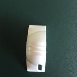 Крышка короба ROLL с отверстием левая