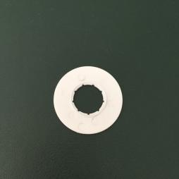 Отбойник ткани белый (9 шлицов)